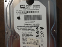 Western Digital WD1600AAJS-40H3A0 DCM:HHRNHV2CHN Apple#655-1470A 160gb Sata
