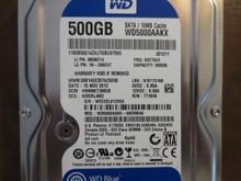 Western Digital WD5000AAKX-08ERMA0 DCM:HBNNKT2MGB 500gb Sata