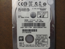 Hitachi HTS545050A7E362 PN:0J23845 MLC:DA5206 Apple#655-1730A 500gb Sata