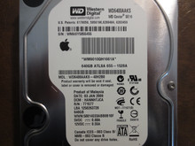Western Digital WD6400AAKS-40H2B0 DCM:HANNHTJCA Apple#655-1528 640gb Sata (Donor for Parts)