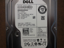 Western Digital WD2502ABYS-18B7A0 DCM:DGRNHT2AGN 250gb Sata (Donor for Parts)