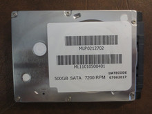 Toshiba ML11010500401 MLP0212702 500gb Sata (Donor for Parts)