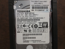 Toshiba MQ01ABF032 HDKCB07E0A02 T AAE AA01/AM001J 320gb Sata (Donor for Parts)