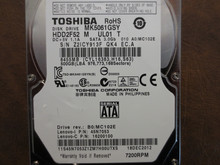 Toshiba MK5061GSY HDD2F52 M UL01 T 010 A0/MC102E 500gb Sata (Donor for Parts)