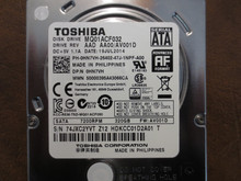 Toshiba MQ01ACF032 HDKCC01D2A01 T AAD AA00/AV001D 320gb Sata (Donor for Parts)