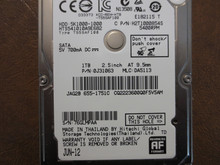 Hitachi HTS541010A9E682 PN:0J31063 MLC:DA5113 Apple#655-1751C 1.0TB Sata (Donor for Parts)
