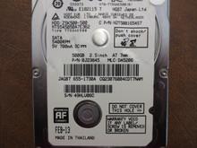 Hitachi HTS545050A7E362 PN:0J23845 MLC:DA5206 Apple#655-1730A 500gb Sata (Donor for Parts)