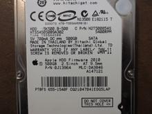 Hitachi HTS545050B9A302 PN:0J13964 MLC:DA3846 Apple#655-1540F 500gb Sata (Donor for Parts)