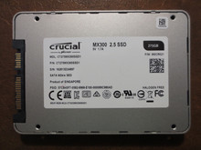 Crucial CT275MX300SSD1 FW:M0CR021 275gb Sata SSD