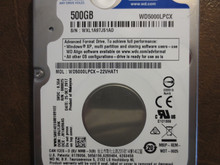 Western Digital WD5000LPCX-22VHAT1 DCM:HHJTJHK 500gb Sata