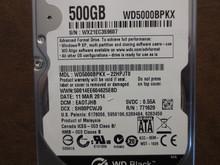 Western Digital WD5000BPKX-22HPJT0 DCM:EAOTJHB 500gb Sata