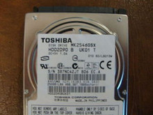 Toshiba MK2546GSX HDD2D90 B UK01 T 010 B0/LB013M 250gb  Sata (Donor for Parts)