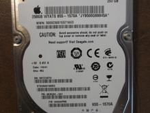 Seagate ST9250315ASG 9KAG32-041 FW:0006APM2 WU Apple#655-1570A 250gb Sata