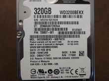 Western Digital WD3200BEKX-60B7WT0 DCM:HHNTJHB 320gb Sata