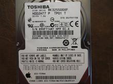 Toshiba MK3255GSXF HDD2H77 P TP01 T 010 D0/FH115B Apple#655-1596A 320gb Sata