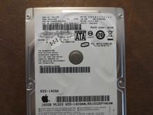 Fujitsu MHY2160BH CA068889-B42700AP 0CFE1C-0081000D Apple#655-1409A 160gb Sata