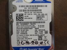 Western Digital WD3200BEVT-75A23T0 DCM:HHMTJHB 320gb Sata