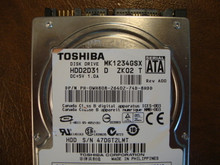 Toshiba MK1234GSX HDD2D31 D ZK02 T 120gb  Sata (Donor for Parts)