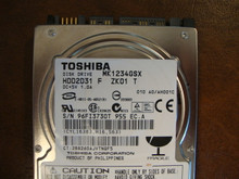 Toshiba MK1234GSX HDD2D31 F ZK01 T 010 A0/AH001C 120gb  Sata (Donor for Parts) 96FI3730T