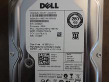 Dell WD2502ABYS-18B7A0 DCM:DGRNHT2AHN PN:0H962F FW:3B05 250gb Sata