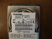 Toshiba MK1246GSX HDD2D91 B UK01 S  010 B0/LB213M 120gb  Sata (Donor for Parts) 28RQF7GGS
