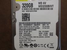 Western Digital WD3200BVVT-63A26Y0 DCM:HHCTJGB 320gb Sata