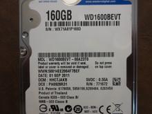 Western Digital WD1600BEVT-00A23T0 DCM:HHCTJAKB 160gb Sata