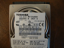 Toshiba MK1246GSX HDD2D91 B UK01 S  010 B0/LB213M 120gb  Sata (Donor for Parts) 18AVF1S2S