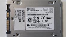 """Toshiba THNSNC256GBSJ CJAA0202 Apple# 655-1653C 2.5"""" 256gb Sata SSD"""