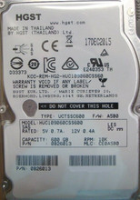 "Isilon HUC109060CSS600 Hitachi 10K S200 PN:0B26013 600gb SAS 2.5"" HDD"