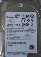 "EMC 118033067-04 6Gb/s 64MB 900gb 2.5"" SAS HDD Seagate ST900MM0006"