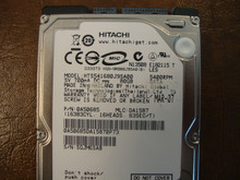 Hitachi HTS541680J9SA00 PN:0A50685 MLC DA1587 80gb Sata (Donor for Parts) SGJM6SAB