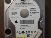 Western Digital WD5000AAKS-41TMA0 DCM:HBNCHV2AHB Apple# 655-1360A 500gb Sata