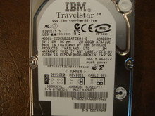 IBM IC25N020ATCS04-0 PN:07N8325 MLC:H32687 20gb IDE (Donor for Parts)