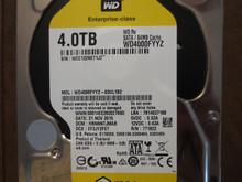 Western Digital WD4000FYYZ-03UL1B2 DCM:HBNNNTMJAB 4.0TB Sata