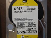 Western Digital WD4000FYYZ-03UL1B3 DCM:HANNHR2JA 4.0TB Sata