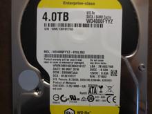 Western Digital WD4000FYYZ-01UL1B3 DCM:EBRNNTJAA 4.0TB Sata (Donor for Parts)