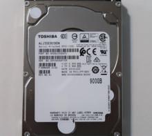 """Toshiba AL15SEB090N HDEBL03GEA51 FW:0102 REV NO.A1 900gb 2.5"""" SAS HDD"""