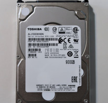 """Toshiba AL15SEB090N HDEBL03GBA51 FW:1403 REV NO.A1 900gb 2.5"""" SAS HDD"""