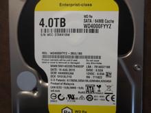 Western Digital WD4000FYYZ-36UL1B0 DCM:HANNNVJAA 4.0TB Sata (Donor for Parts)