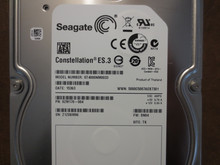 Seagate ST4000NM0033 9ZM170-004 FW:SN04 TK 4.0TB Sata (Donor for Parts)