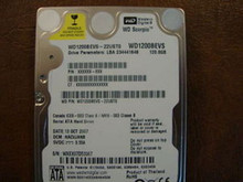 WD WD1200BEVS-22UST0 DCM:HACVJANB 120gb Sata (Donor for Parts)