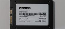 """AVANT AVSC21AC103M4 AV1250A000012669 Rev 5.0.4 96GiB 2.5"""" Sata III SSD"""