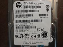 HP MK1401GRRB HDEAA01CAA51 Rev.No. A6 Rev A  FW:HPD4 146gb SAS
