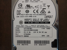 Hitachi HUC101890CSS200 PN:0B27976 MLC:CF0AD02 FW:AD02 900gb SAS