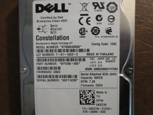 Dell ST9500430SS PN:9FY246-050 FW:DS04 500gb SAS
