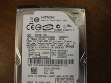 Hitachi HTS542512K9SA00 PN:0A54893 MLC DA2100 120gb Sata (Donor for Parts)