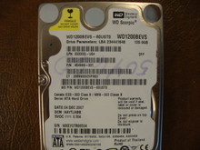 WD WD1200BEVS-60UST0 DCM:HAYTJABB 120gb Sata (Donor for Parts)