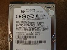Hitachi HTS542512K9SA00 PN:0A54973 MLC:DA2031 120gb Sata (Donor for Parts) 071112BB0200WBH0H7RC