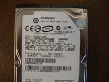 Hitachi HTS542512K9SA00 PN:0A54973 MLC:DA2031 120gb Sata (Donor for Parts) 071111BB0200WBH2QDVC